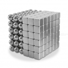 5mm square 108 silver balls 108 silver cubs